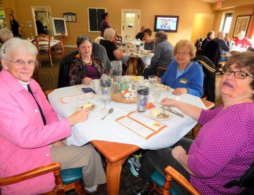 Retired Senior Volunteer Program Fall Recognition Luncheon